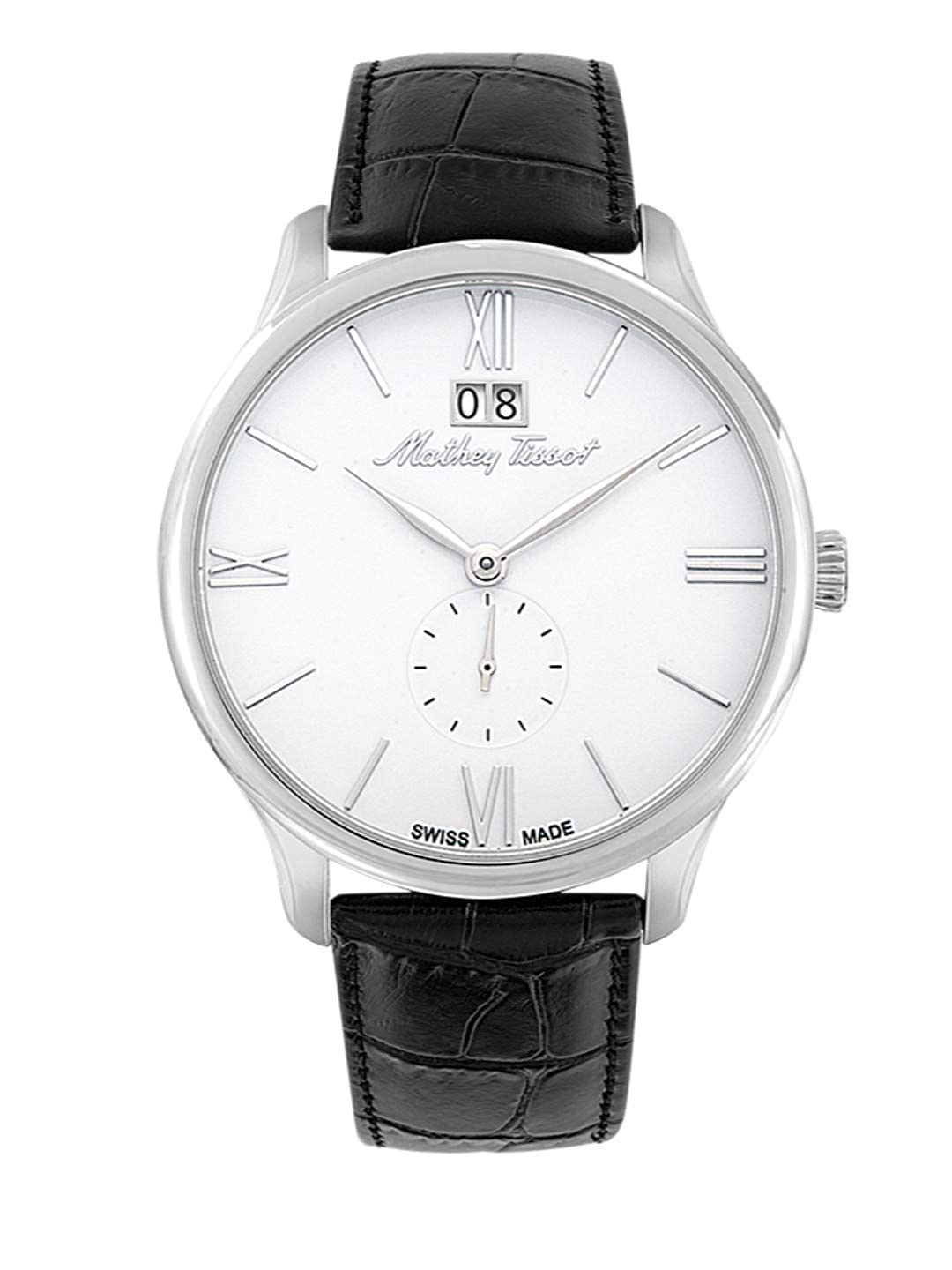 Mathey Tissot Analog Silver Dial Mens Watch H1886QAI